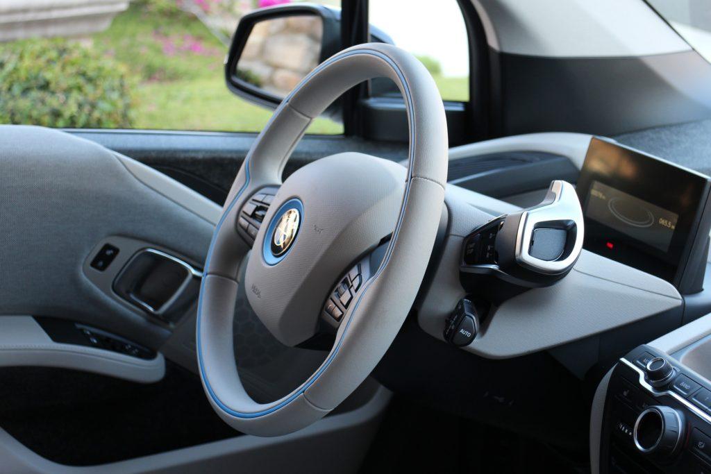 wnętrze BMW i3