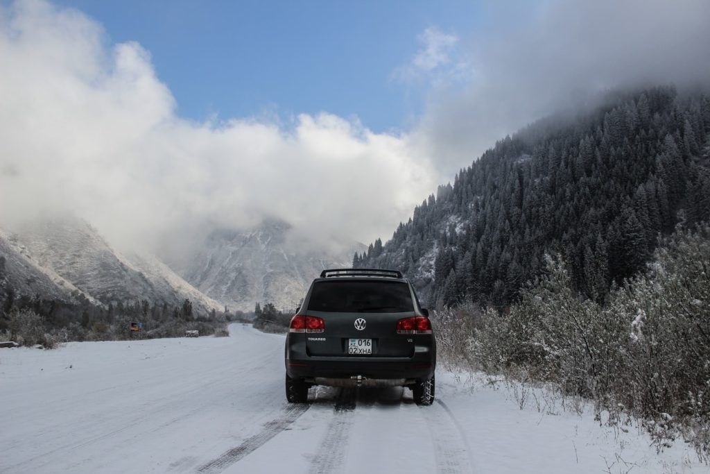 samochód iopony zimowe
